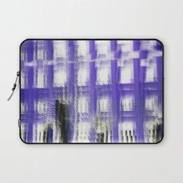 Purple building Laptop Sleeve