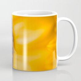 Inside of a Sunflower Coffee Mug