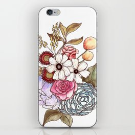Floral Arrangement 2 iPhone Skin