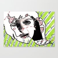 child Canvas Prints featuring child by melis basmaci