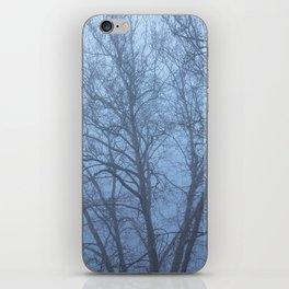 Trees in Fog iPhone Skin