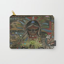 """""""Great Spirit """" copyright Ray Stephenson 2013 Carry-All Pouch"""
