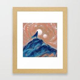 Wandering & Wonder Framed Art Print