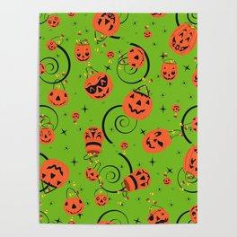 Halloween Magic- Green Poster