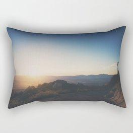 mountain road ... Rectangular Pillow