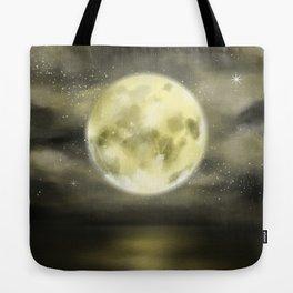 dear moon Tote Bag