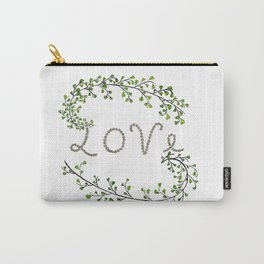 Love Vegetals Carry-All Pouch