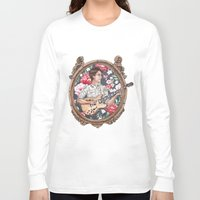 vampire weekend Long Sleeve T-shirts featuring Ezra Koenig of Vampire Weekend by Jesse Knight