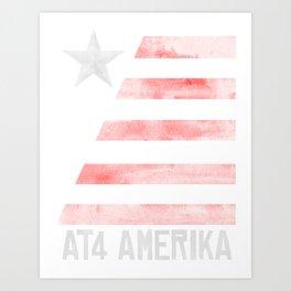 AT4 AMERIKA Art Print