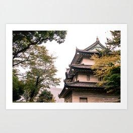 Classic Japan Art Print