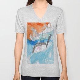 Shark Watch Unisex V-Neck