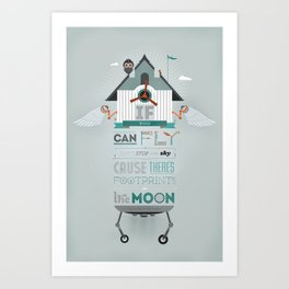 If You Can Fly Art Print