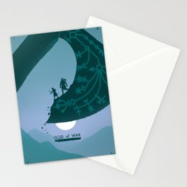Father and Son Stationery Cards