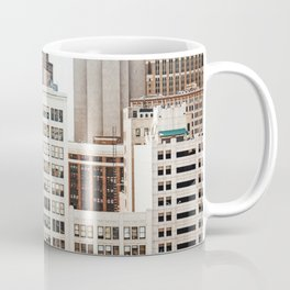 Woodward Avenue, Downtown Detroit Storefront Buildings Coffee Mug