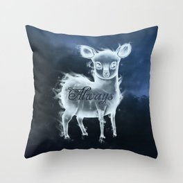 Lil' Patronus Throw Pillow