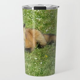 FOX - 3 - FULL BODY, LOOKING AT YOU Travel Mug