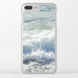 Sea spray Clear iPhone Case