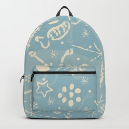 Cozy Winter Doodles Backpack