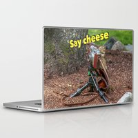 photographer Laptop & iPad Skins featuring Photographer by Robert Raney