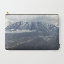 Close up view of volcano Chachani Carry-All Pouch