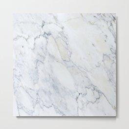Luxury Gray Marble Metal Print