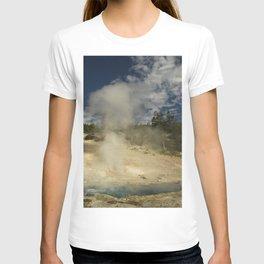 Norris Geyser Basin - Beryl Spring T-shirt