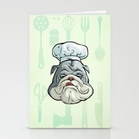 chef Stationery Cards featuring Chef by Keyspice