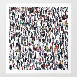 Where's Wally? Art Print
