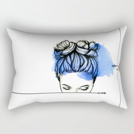 Be Myself Rectangular Pillow