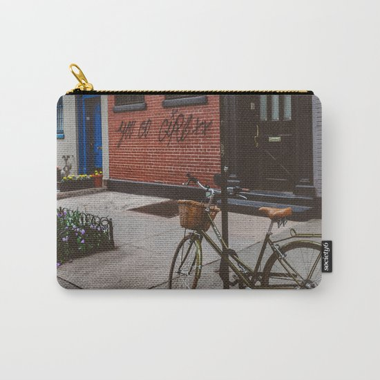 New York's West Village Carry-All Pouch