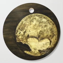 Universal Love from Pluto Cutting Board