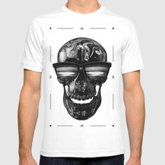 Erasmus / Nuclear Edition  White Mens Fitted Tee SMALL