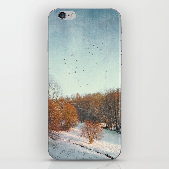 Trees in Winter II iPhone Skin