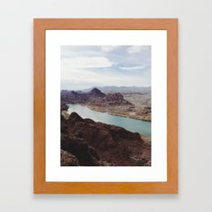 The Colorado River Framed Art Print