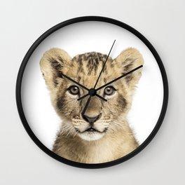 lion cub Wall Clock