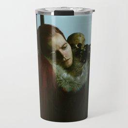 Nature Morte Glitch Travel Mug
