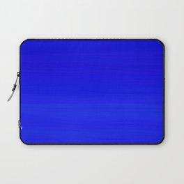 Solid Cobalt Blue - Brush Texture Laptop Sleeve