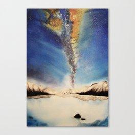 Peaceful Sky Canvas Print