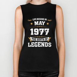 May 1977 41 the birth of Legends Biker Tank