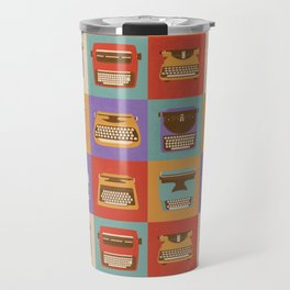 Retro Typewriters Travel Mug