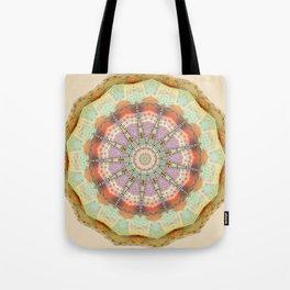 Bohemian Spirit Peace Mandala Tote Bag
