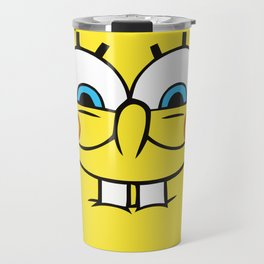 Spongebob Naughty Face Travel Mug