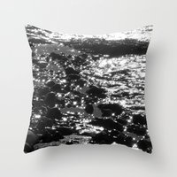 sparkles Throw Pillows featuring Sparkles by Anne Seltmann
