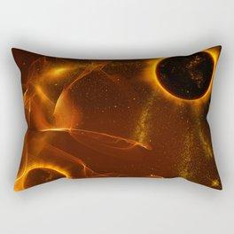 The inferno Rectangular Pillow