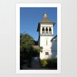 Nazarene Church Art Print