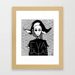 eva natas Framed Art Print