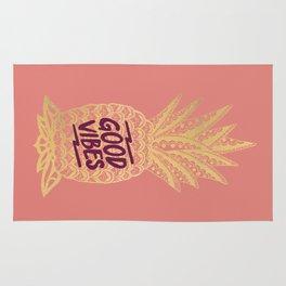 Good Vibes - Pink Rug