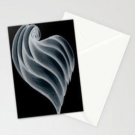 love 3.1 negative Stationery Cards