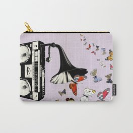 Vintage gramophone art print Carry-All Pouch