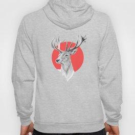 Deer | red Hoody